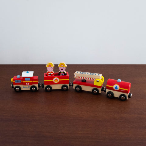 Firefighters Train Set