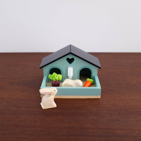 Pet Rabbit House Toy Set