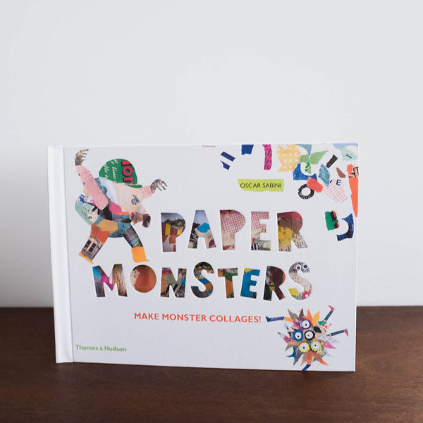 Paper Monsters Collage Book