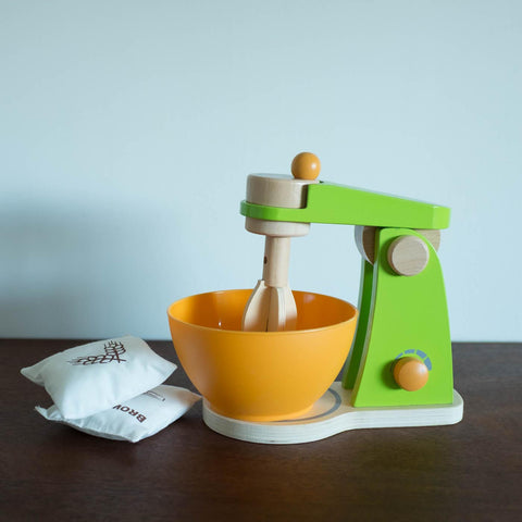 Wooden Mixer Toy