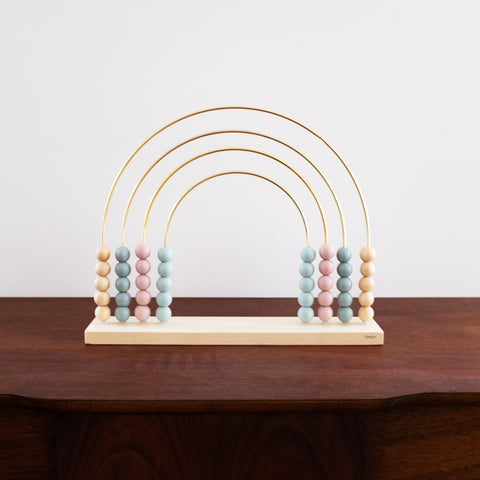 Abacus Wooden and Metal Rainbow