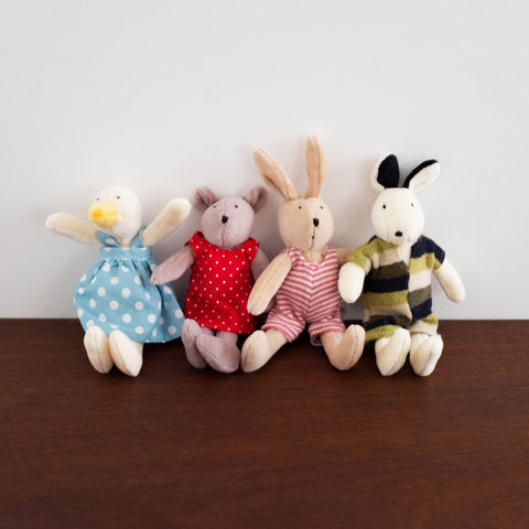 La Grande Famille Mini Plush Dolls