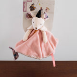 Mouse Lovey Blankie and Pacifier Holder