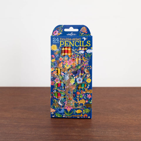 Tree of Life Double-sided Colored Pencils Set