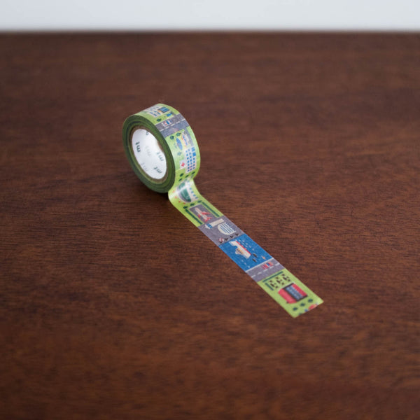 Washi Tape For Kids: Work Town