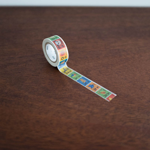 Washi Tape For Kids: Alphabet N-Z