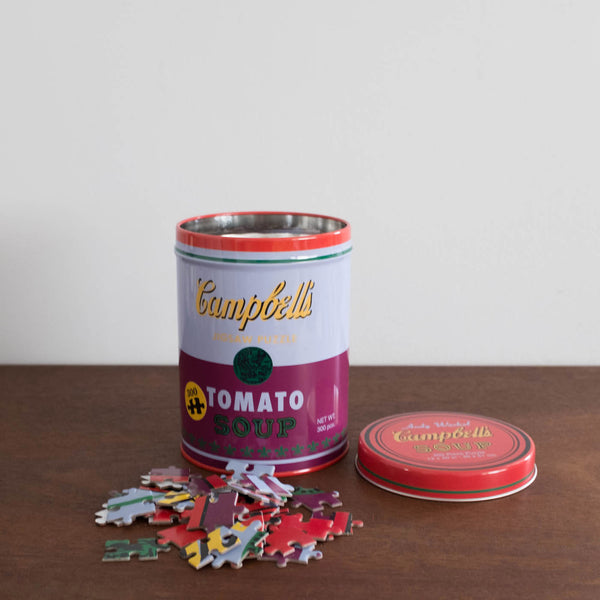 Andy Warhol Soup Can Puzzle Set
