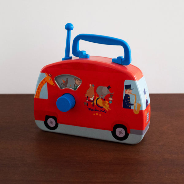 Circus Musical Bus Car Toy