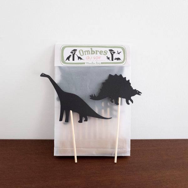 Dinosaur Night-Time Shadow Play Set