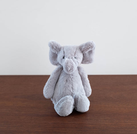 Bashful Grey Elephant- Small