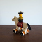 Hee Haw Wood Horse Pull Toy