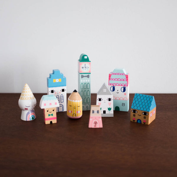 Suzie's City Wooden Set