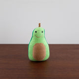 Organic Avocado Toy Baby Rattle