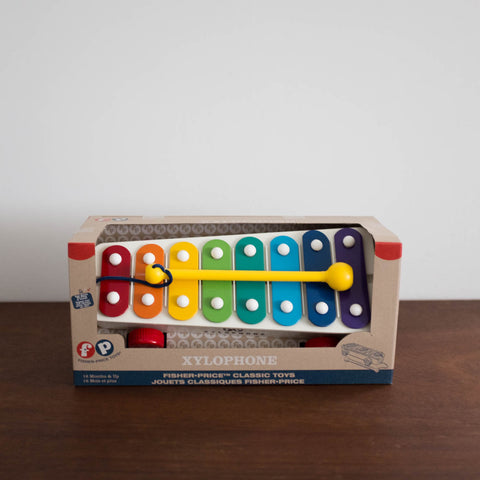 Retro Pull Along Xylophone