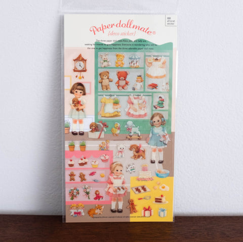 Paper Doll Stickers- #1
