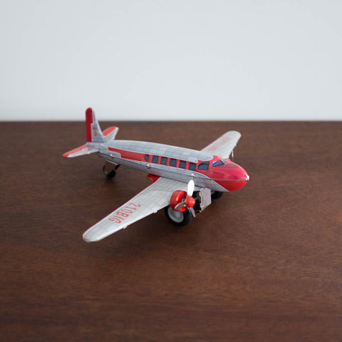 Tin DC Airplane Toy