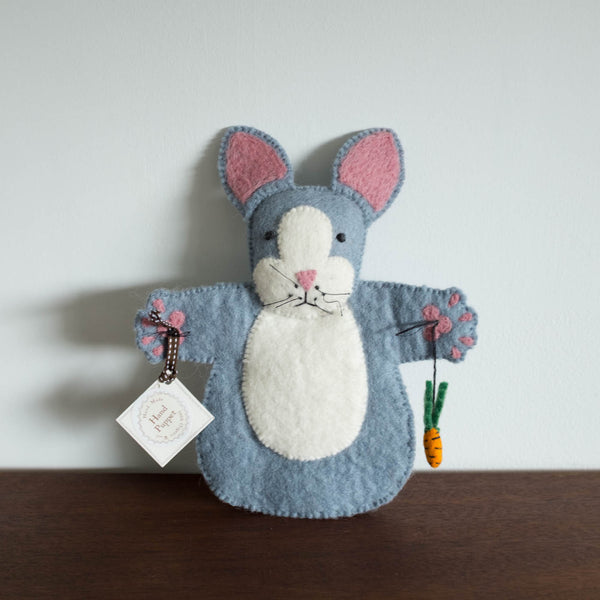 Rory Rabbit Felt Puppet