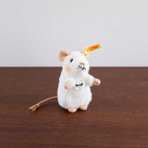 Steiff Pilla Mouse- White