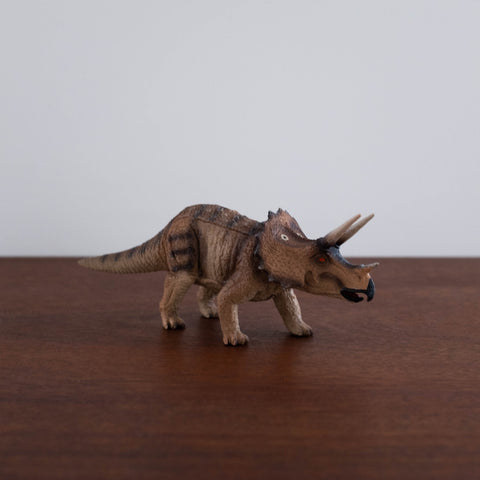 Triceratops Toy Figure