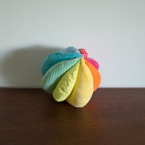 Rainbow Fabric Play Ball