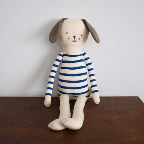 Large Dog Pup Knitted Doll