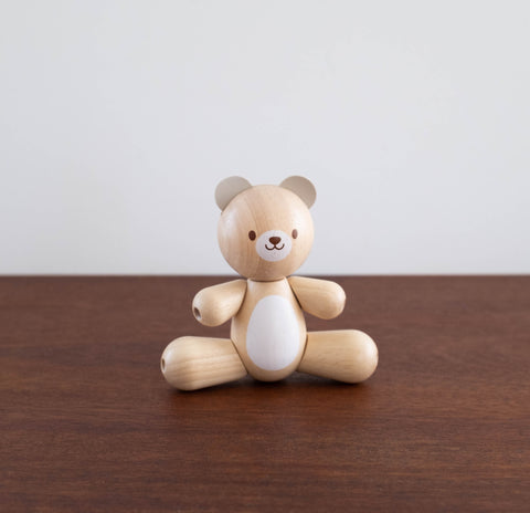 Wooden Bear Baby Toy