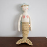 Mermaid Knitted Doll