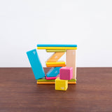14 pc Wooden Magnet Block Set- Tints