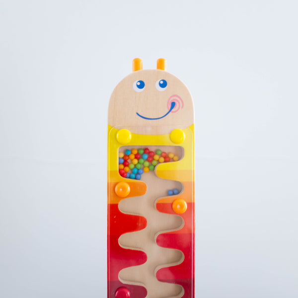 Worm Wooden Rainmaker Toy