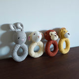 Lamb Organic Crochet Rattle Toy
