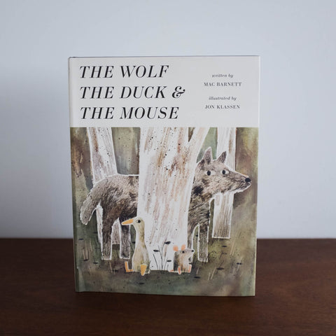 The Wolf, The Duck & The Mouse Book