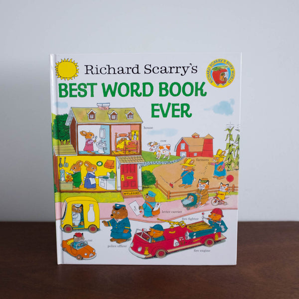 Best Word Book Ever by Richard Scarry Book