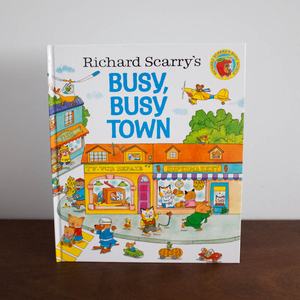 Busy Busy Town by Richard Scarry Book