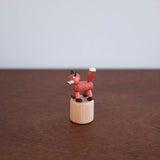 Wooden Push Toy- Fox