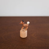 Wooden Push Toy- Deer