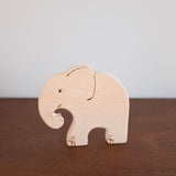 Big Wooden Animal Toy: Elephant
