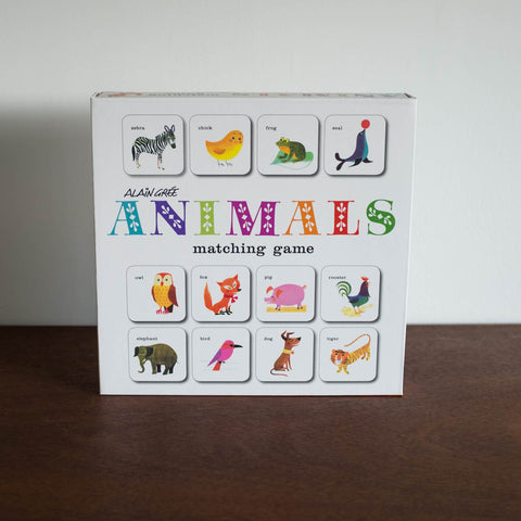 Alain Gree Animals Matching Game Front