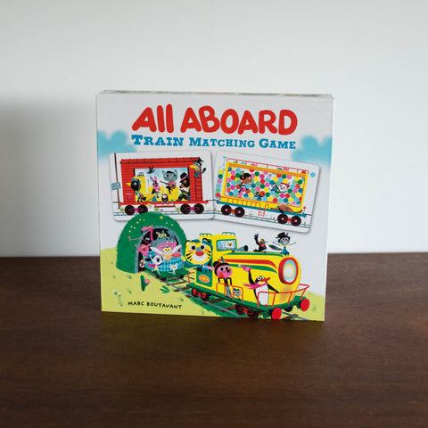 All Aboard Train Matching Game Front