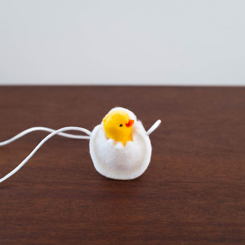 Duckling in Egg Necklace