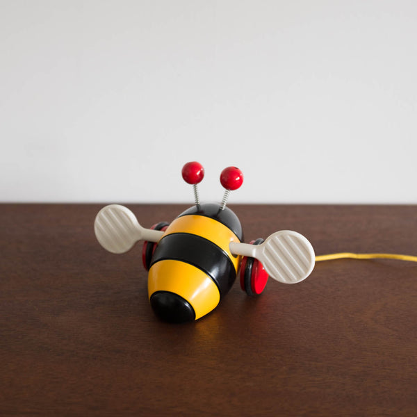 Wooden Bumble Bee Pull Toy