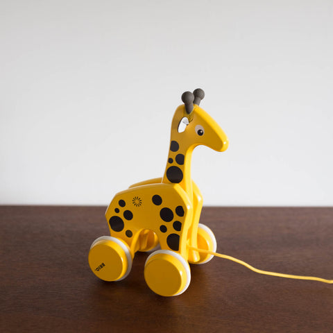Wooden Giraffe Pull Toy