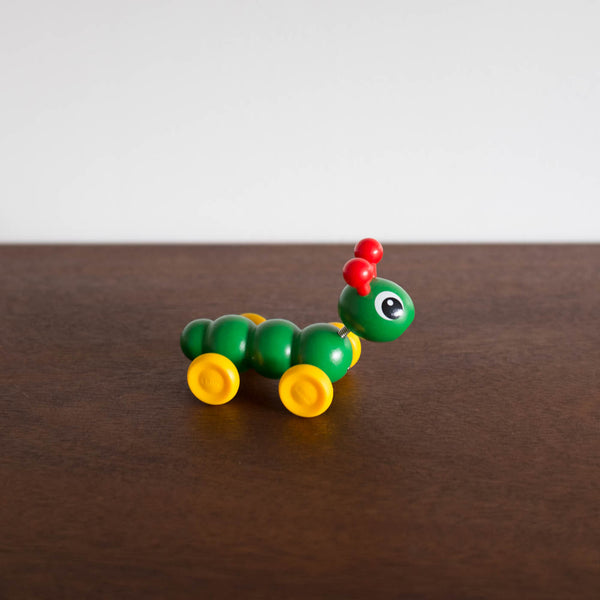 Wooden Mini Caterpillar Push Toy