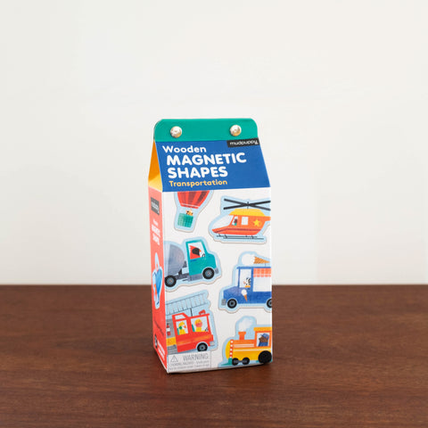 Magnetic Shapes Kit: Transportation