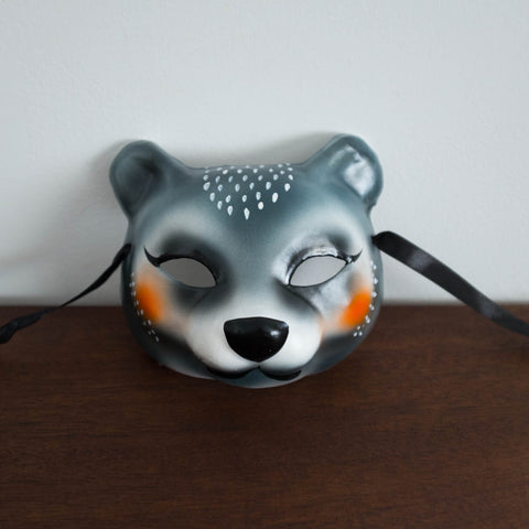 Bear Woodland Paper Mache Mask