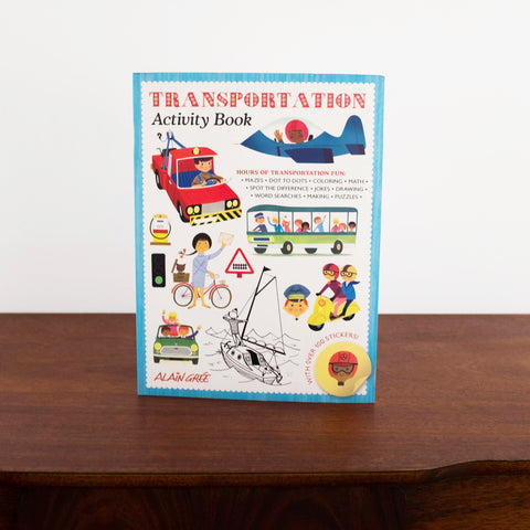 Alain Gree Transportation Activity Book