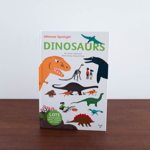 Ultimate Spotlight Dinosaurs Book