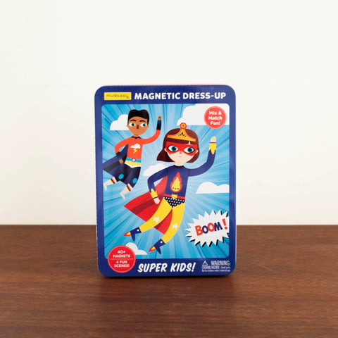 Magnet Tin Puzzle Set: Super Kids!