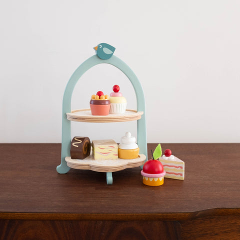 Birdie Afternoon Tea Stand Set