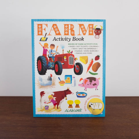 Alain Gree Farm Activity Book