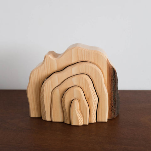 Wooden Grotto Toy- Natural